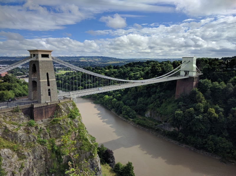 Bristol's most famous bridge